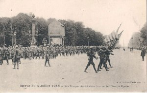 American Troops in France during World War I