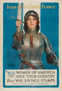 """Joan of Arc Saved France,"" from the collection of the Weisman Art Museum"